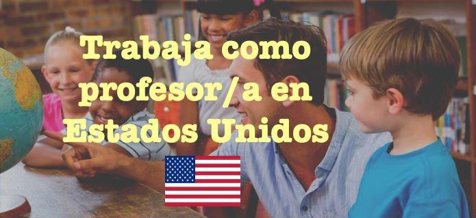 Trabaja como profesor en Estados Unidos