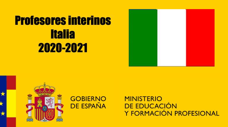 Profesores Interinos en Italia