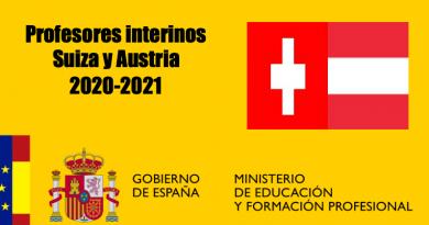 Profesores Interinos en Suiza y Austria