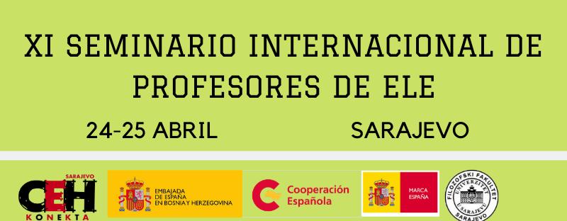 XI SEMINARIO INTERNACIONAL DE PROFESORES DE ELE