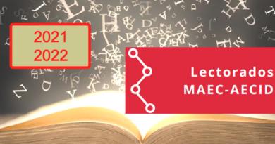 Lectorados MAEC-AECID 2021/2022